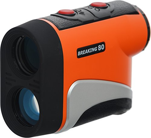 Breaking 80 IS500 Golf Rangefinder (Orange)