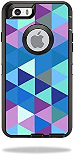 MightySkins Skin Compatible with OtterBox Defender iPhone 6/6S - Purple Kaleidoscope | Protective, Durable, and Unique Vinyl wrap Cover | Easy to Apply, Remove, and Change Styles | Made in The USA