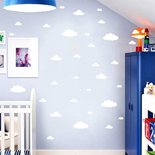 Cloud wallpaper for ceiling _image1