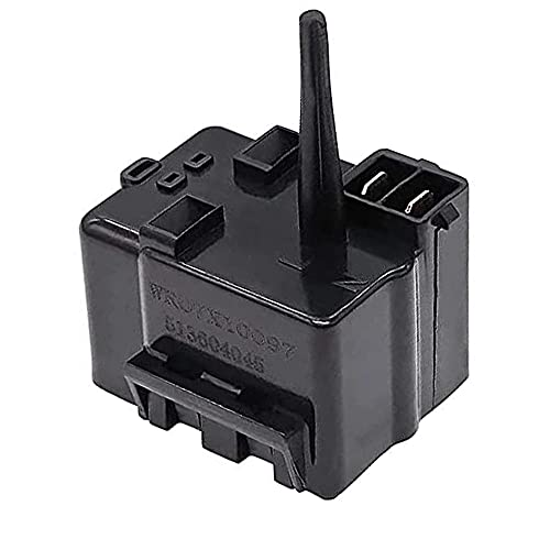 WR07X10097 Compressor Relay and PTC Overload Assembly By Primeswift Fit for GE Starter Refrigerators Replacement for 1265640 AP4300623 EAP1766101 PS1766101
