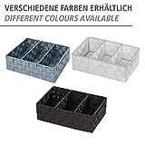 Wenko 21532100 Organizer Adria mit Griff Grau – Badorganizer, Polypropylen, 32 x 10 x 21 cm, Grau - 2