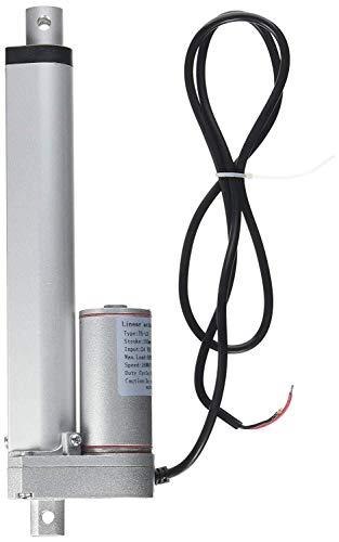 F-MINGNIAN-Tool, 1pc LDHS DC 12V Motor eléctrico Actuador Lineal 24V 450-900N 50-300mm Trazo de 30-20mm / s Putter Lineal de Velocidad con potenciómetro Comentarios