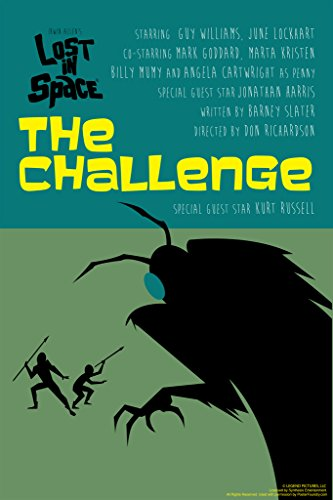 Lost In Space The Challenge by Juan Ortiz Art Print Poster 12x18
