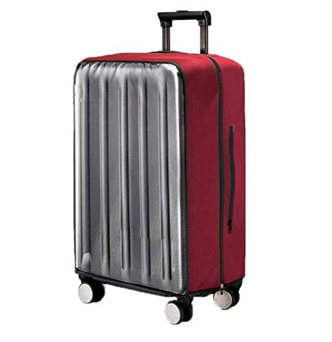 Kenebo Demontage Gepäck Abdeckung Koffer Abdeckung Wasserdicht Staubdicht Waschbar Für Geschäftsreise Weinrot 28 inch