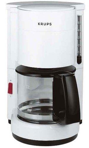 Krups F 183 76 AromaCafé 5 glazen koffiezetapparaat wit