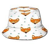Sombrero de Pescador Unisex Patrón caótico Transparente Abstracto geométrico Urbano Plegable De Sol/UV Gorra Protección para Playa Viaje Senderismo Camping