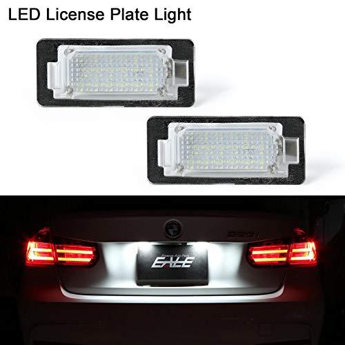 OZ-LAMPE LED Kennzeichenbeleuchtung 2 X 18 SMD Nummernschildbeleuchtung mit CAN-Bus wasserdichter Für E82 E84 E88 E90 E91 E92 E93 E39 E60 E61 F07 GT F10 F11 F18 X3 F25 X5 E70 E72 F15 X6 E71 E72