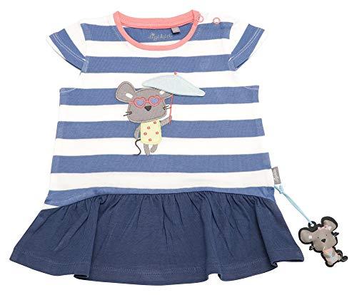Sigikid Baby-Mädchen Kleid, Blau (Colony Blue 539), (Herstellergröße: 74)