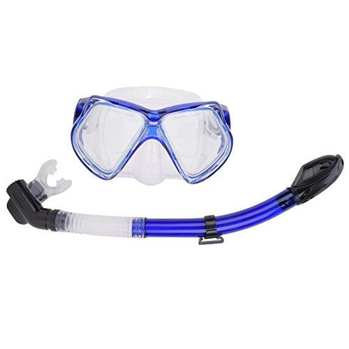 FOLOSAFENAR Gafas de natación Ajustables antivaho, para Deportes acuáticos(Blue, One Size)