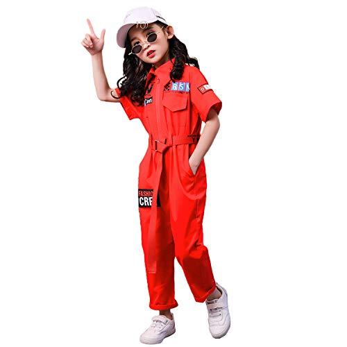 LOLANTA Unisex Kind Jazz Dans Kostuum Jongens Meisjes Stijlvolle Hip Hop Dans Jumpsuit Outfit