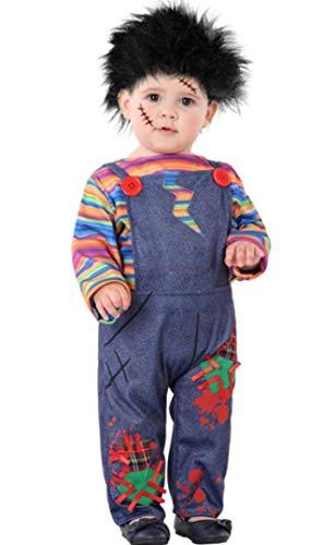 ANGEL TOMAS, SA Disfraz de Chucky Poseído para bebé: Amazon.es ...