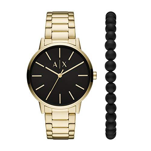 Armani Exchange Reloj Analógico para de los Hombres de Cuarzo con Correa en Acero Inoxidable AX7119