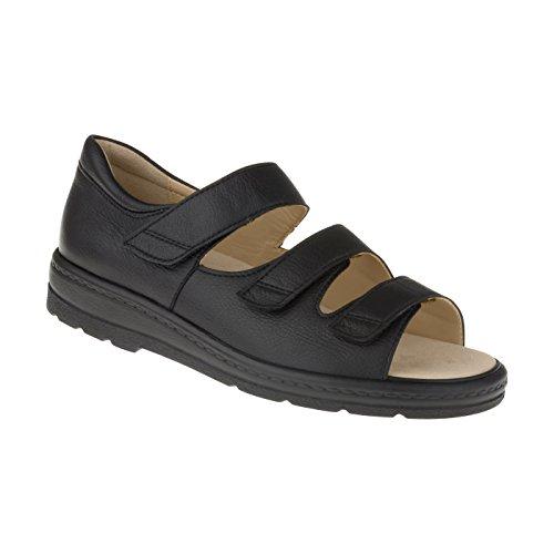 Natural Feet Damen Orthopädie Casablanca | Weite J | für Einlagen 42 schwarz