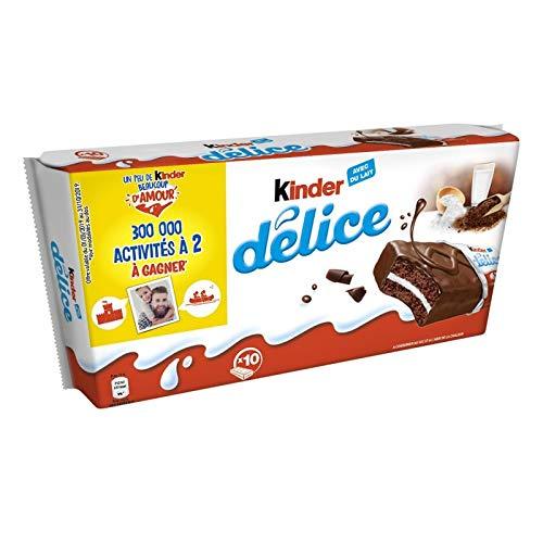 Kinder Délice Cacao 390g Lot De 4 Vendu Par Lot Livraison Gratuite En France