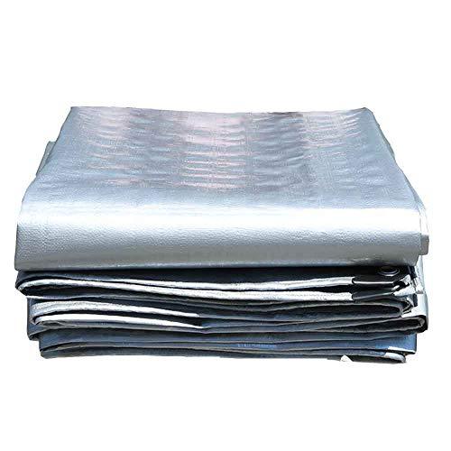 GHHZZQ Bâche de Protection Bâche Tissu Imperméable Plein Air Résistant Au Froid Patio Balcon, 22 Tailles (Color : A, Size : 7.8x7.8m)