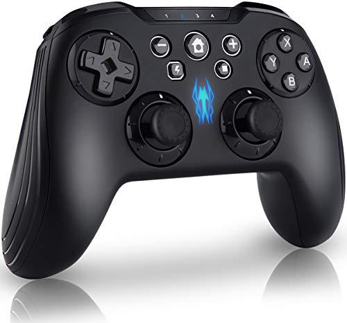 Olictar Wireless Controller für Nintendo Switch,Wii u Pro controller Nintendo Switch / Switch Lite, DinoFire, mit Flexible Tasten Modularity Anordnung