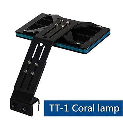La mer LED de lumières de Spectre Complet d'aquarium Allume des lumières Professionnelles d'agrafe d'aquarium de Corail d'eau de mer d'herbe de mer Lampes de réservoir de Poisson
