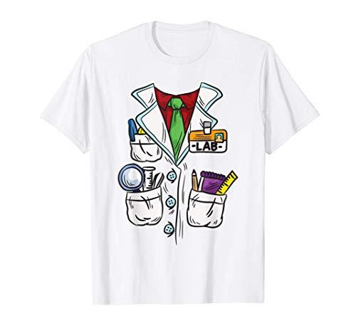 Bata de laboratorio de ciencias - Disfraz de científico Camiseta