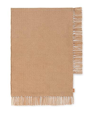 ferm Living Tapis 100% Polyester Issu de Bouteilles Plastiques recyclées 70 x 50 cm