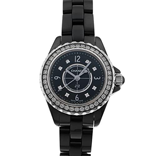 シャネル CHANEL J12 29mm H2571 ブラック文字盤 中古 腕時計 レディース (W206872) [並行輸入品]
