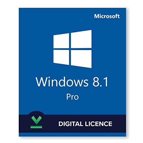 Windows 8.1 Professional Pro ESD Key Lifetime / Fattura / Consegna Immediata / Licenza Elettronica / Per 1 Dispositivo