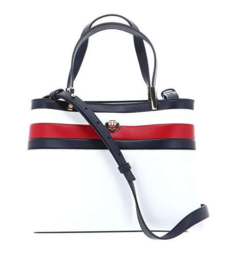 Tommy Hilfiger Damen Handtasche TH Core Med Satchel Corp