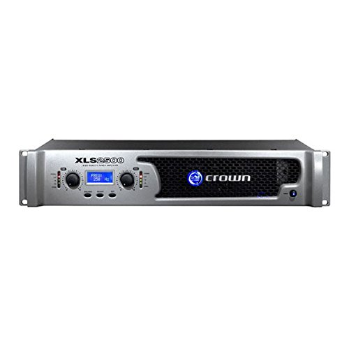 Lowest Prices! XLS 2500W AMP W/ XOVER & LIMTR 120V