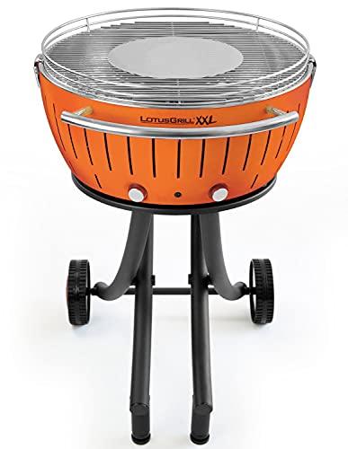 Lotus Grill XXL - Barbacoa de carbón, Naranja, 78x 78x 48cm