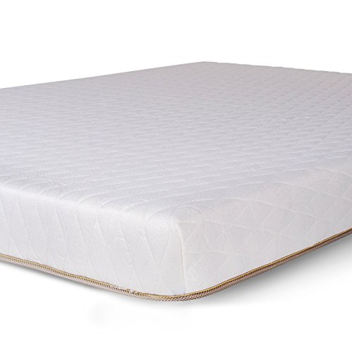 "Dreamfoam Bedding Chill 6"" Gel Memory Foam Mattress, Short Queen, Made in The USA"
