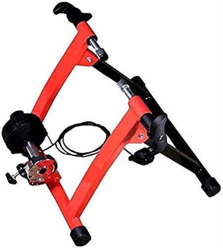 Lanrui Bici MTB Heavy Duty Bike Trainer Soporte pie Ajustable for el Ciclismo de Interior Puede ser Utilizado en los Coches del Camino de Bicicletas de montaña Bike