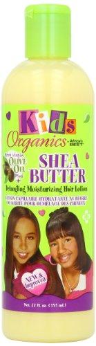 Africa's Best Kids Organic Shea Butter Detangling Moisturizing Hair Lotion, 12 Ounce by Organics Kids