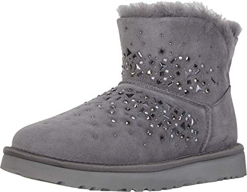 UGG® Classic Galaxy Bling Mini Damen Stiefel Grau