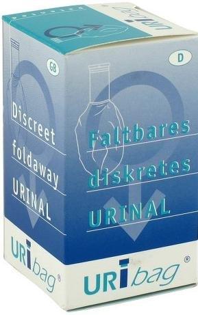 URIBAG Urinflasche faltbar für Frauen