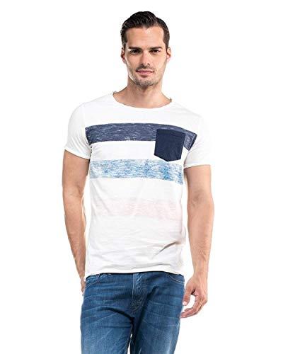 Salsa Jeans - Camiseta Hombre Manga Corta Salsa JEANS1130080060