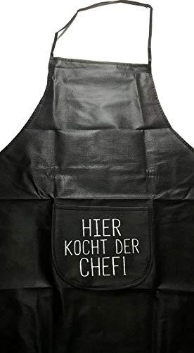 Küchen- Grill- Back- Koch-Schürze mit lustigem Spruch: