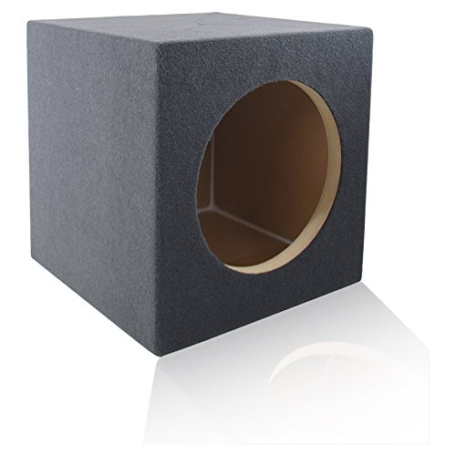"MDF Sub Woofer Enclosure Box for Single JL Audio W7 Car Subwoofer | ¾ Premium MDF Construction | Made in U.S.A. (13.5"" W7 Sealed)"