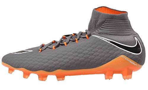 Nike Nike Unisex-Erwachsene Hypervenom Phantom 3 Pro DF FG AH7275 0 Fußballschuhe, Mehrfarbig (Dark Grey/Total Oran 081), 42 EU