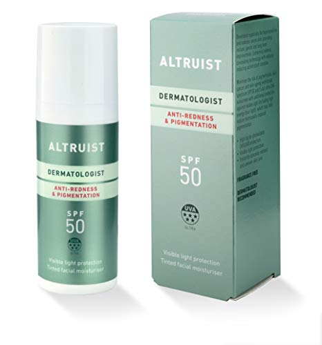 Altruist Anti-Rötung und Pigmentierung SPF50 - 5 Sterne ultra- UVA-Schutz - 50 ml