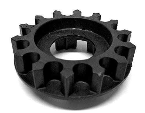 1 Zahnrad-Einsatz für die Überländer Bremse, schwarz