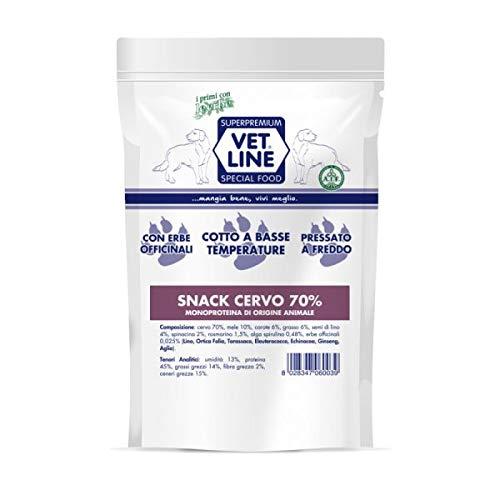 Snack Cane Cervo 80gr. Vet Line