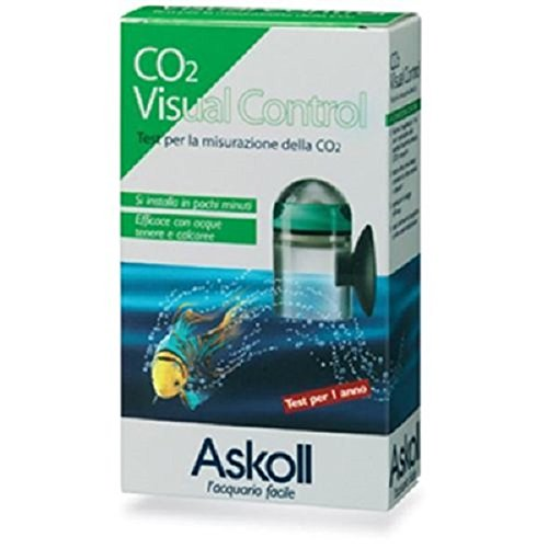 Askoll 001695 CO2 Visual Control Test Misurazione CO2 per Acquario