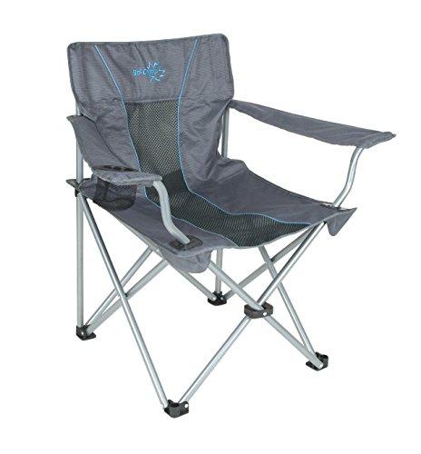 Bo-Camp Deluxe Classic klapstoel, antraciet