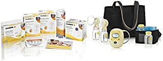 Medela Freestyle Mobile Double Breast Pump, Hands Free Double Pump with Complete Solution Set, Compact and Lightweight for Easy Mobility and Efficient Pumping