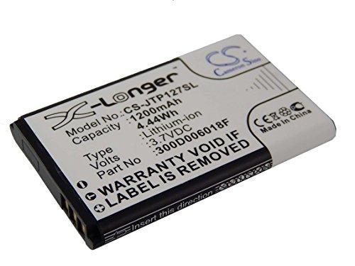 vhbw Akku passend für Becker Mamba, Mamba.4 CE LMU EU Navigationsgerät ersetzt C533457105T, 300D006018F (1200mAh, 3.7V, Li-Ion)