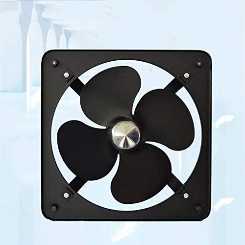 Ventilador extractor de baño, ventilador de cocina de 10 pulgadas, para hogar/industrial, todo el metal de bajo ruido de ventana y ventilación.