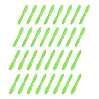 uxcell RC Propellers CW CCW 2-Vane Mini for Cheerson Only CX-10 CX-10A Quadcopter Green 8 Sets