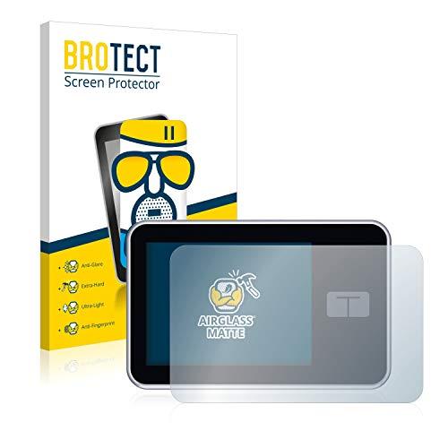 BROTECT Entspiegelungs-Panzerglasfolie kompatibel mit Tandem Diabetes Care t:Slim X2 Insulin Pump - Anti-Reflex Panzerglas Schutz-Folie Matt