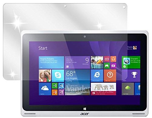 dipos I 2X Schutzfolie klar kompatibel mit Acer Aspire Switch 10 FHD Folie Bildschirmschutzfolie