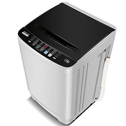 CHB Vollautomatischer Haushalt 7,5 Kg Energiesparende Mini-Pulsator-Waschmaschine Mit Großer Kapazität Schleuderdrehzahl: 1000 Leistung: 250-350W