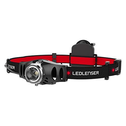 Ledlenser Stirnlampe H3.2 - Hochwertige, leichte LED Allround-Kopflampe - batteriebetrieben - bis zu 60 Stunden Laufzeit - 120 Lumen